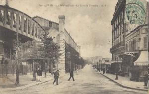 Près de la station «Grenelle» (devenue «Bir-Hakeim»).