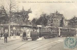 Place de l'Etoile, vers 1910.