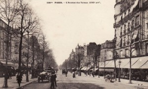 L'avenue des Ternes.