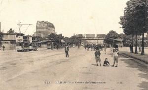 A la Porte de Vincennes…