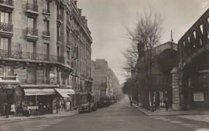 A l'angle du boulevard et du quai de Grenelle (années 1930)