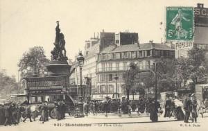 La place de Clichy…