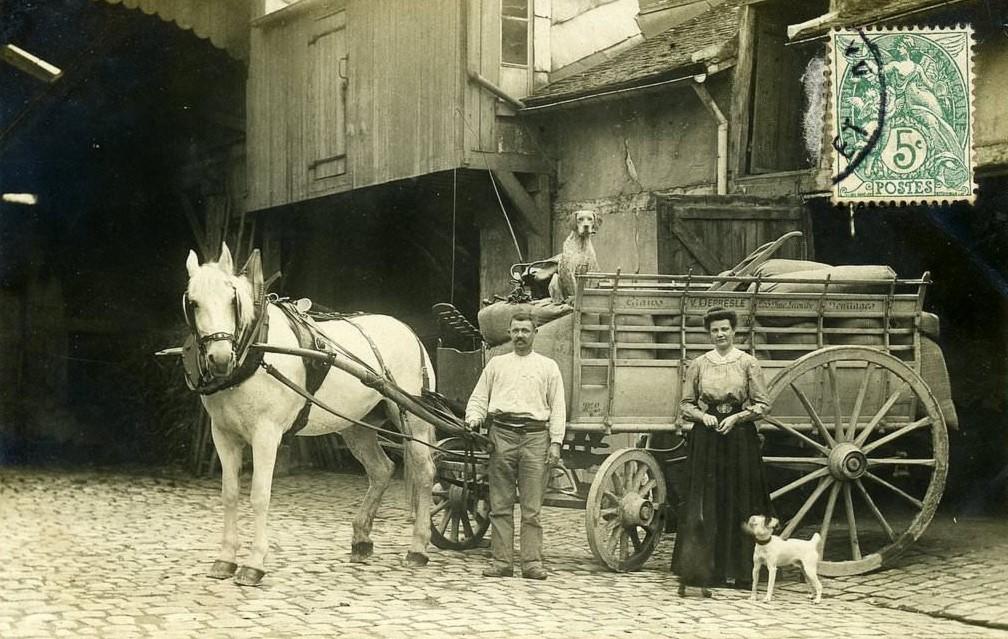 253, rue Lecourbe (15ème)... depresle-grains-et-fourrages-253-rue-lecourbe