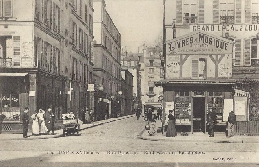 paris-xvii-rue-puteaux Les Batignolles