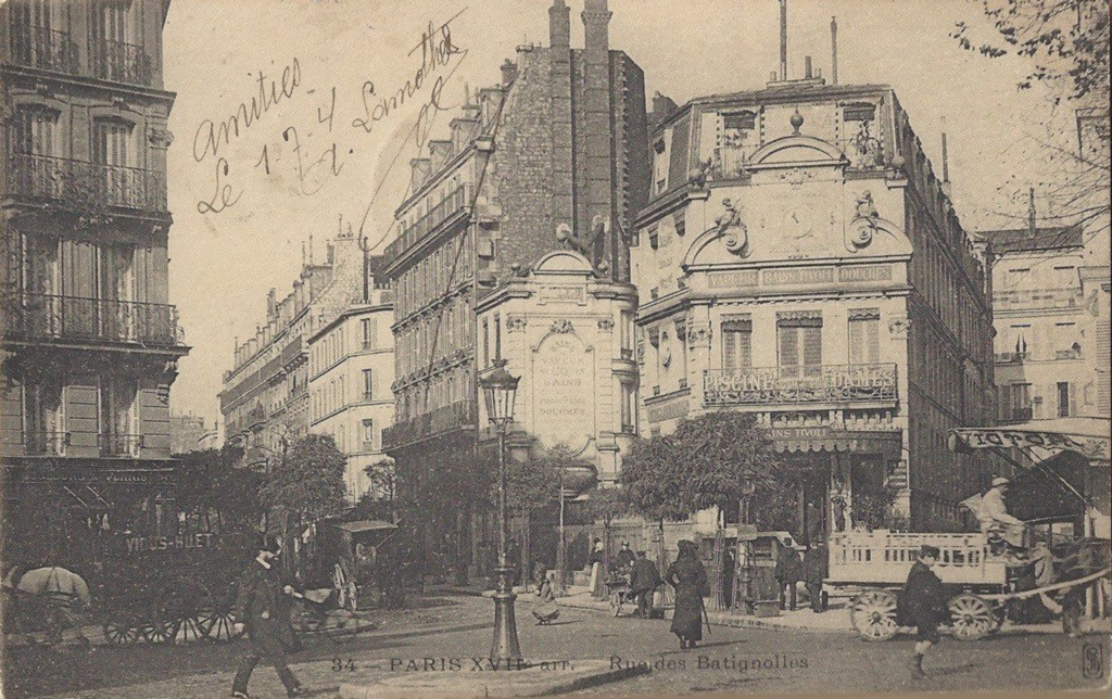 rue-des-batignolles 17ème arrondissement