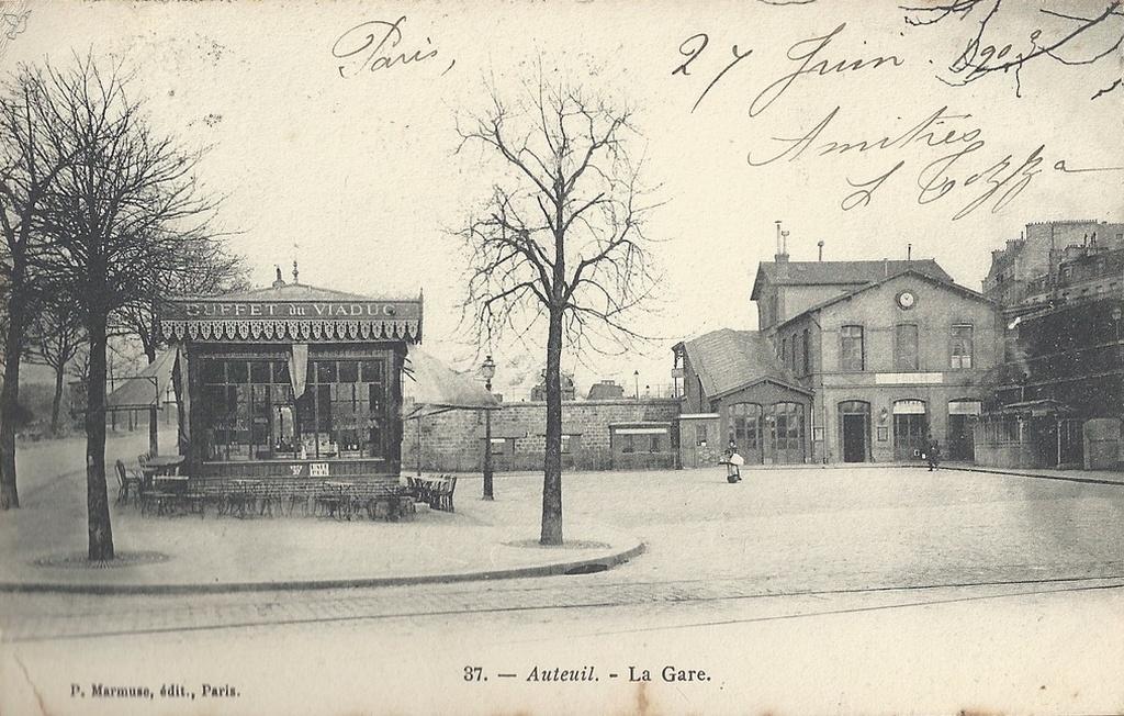 Retour sur la Gare d'Auteuil (Petite-Ceinture). gare2