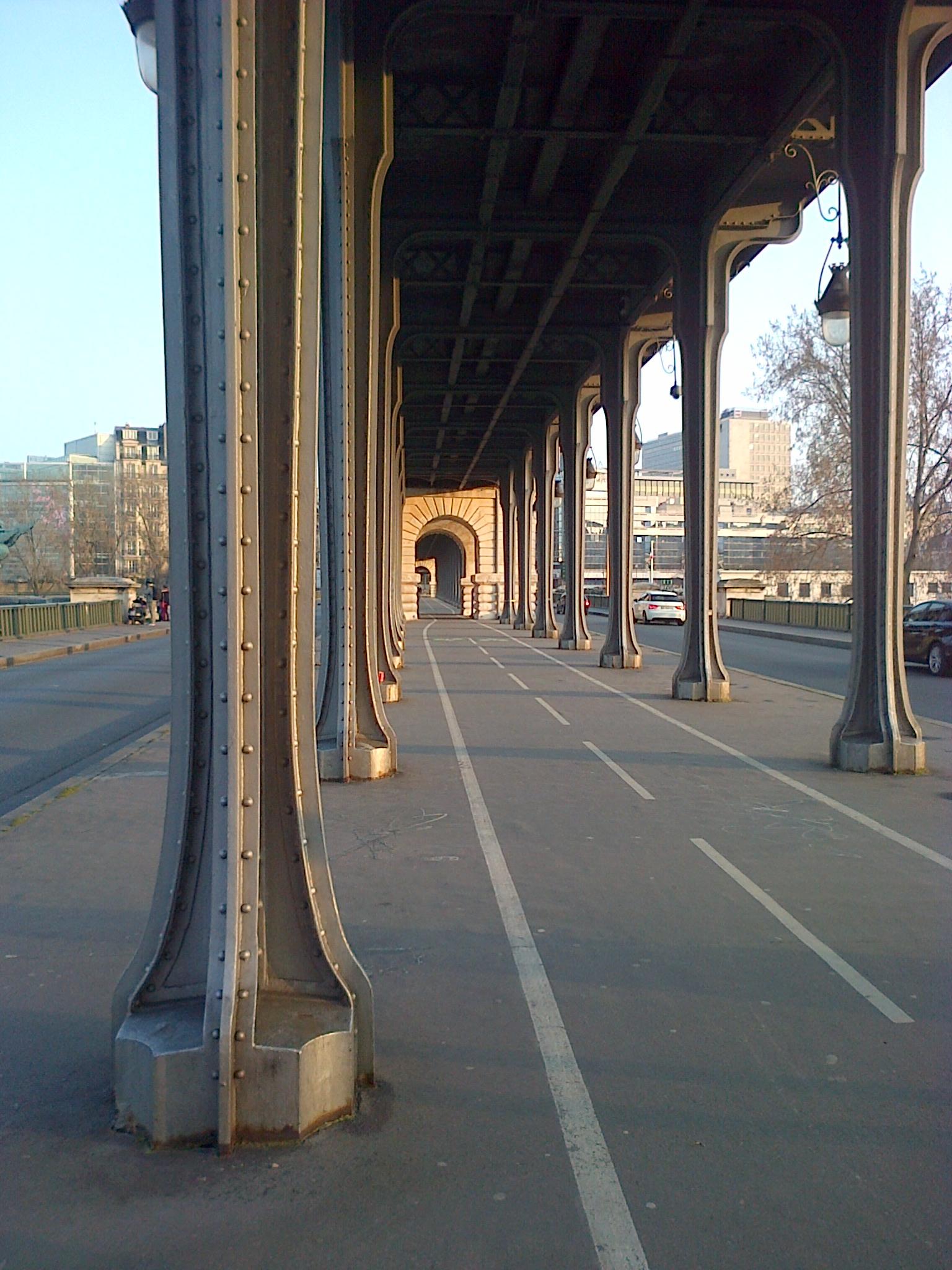 Le Viaduc De Passy Depuis 1949 Pont De Bir Hakeim