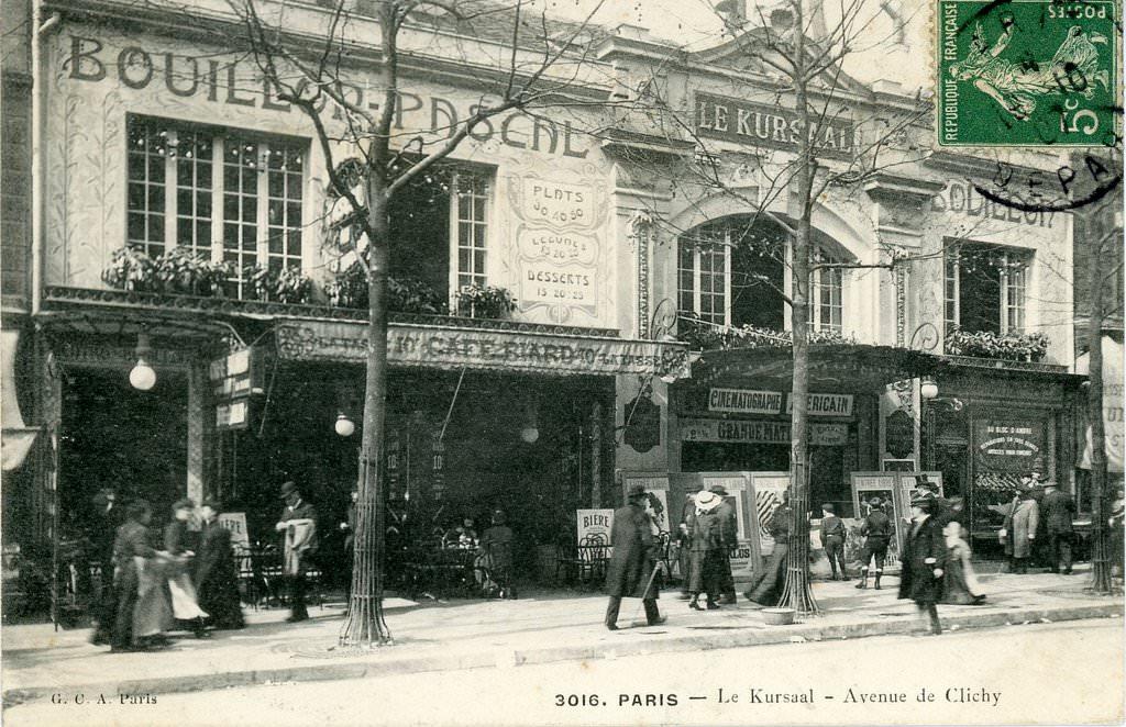 7-avenue-de-clichy-a-remplace-en-1906-le-cabaret-du-pere-lath 17ème arrondissement