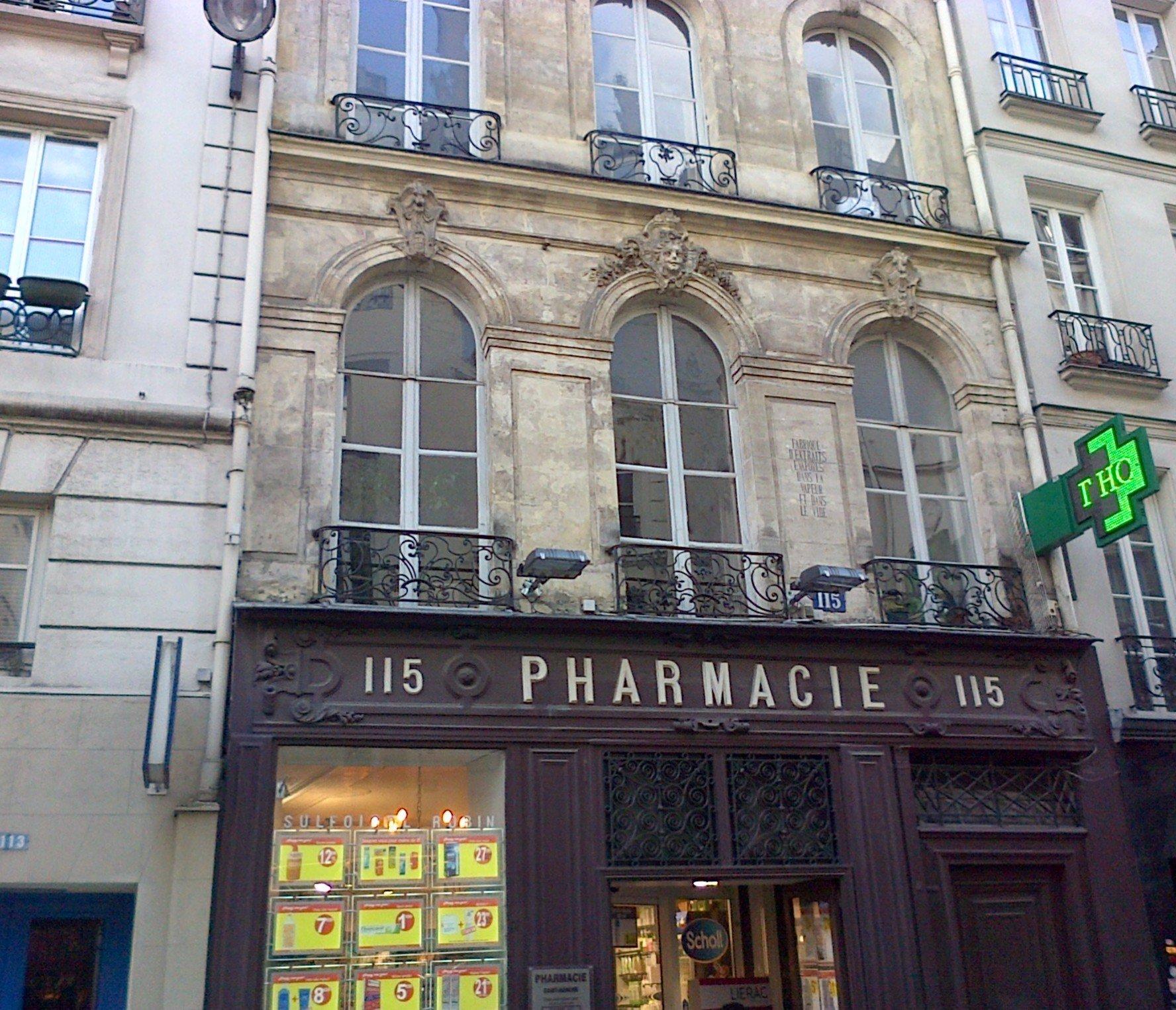 pharmacie saint lazare